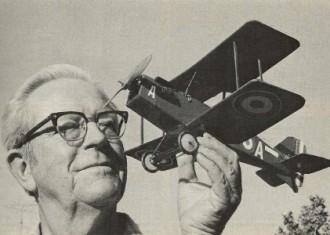 SE-5 model airplane plan