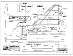 SR-71 Blackbird model airplane plan