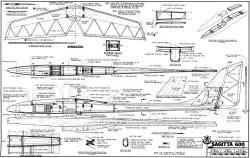 Sagitta 600 model airplane plan