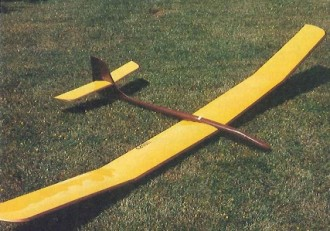 Sailfish model airplane plan