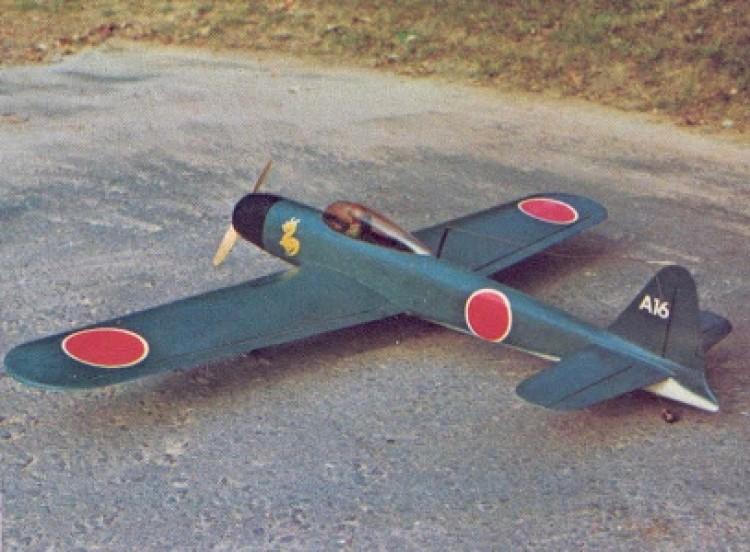 Samurai model airplane plan