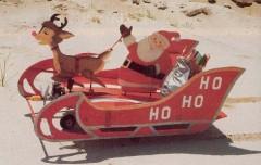 Santa's Flying Sled model airplane plan