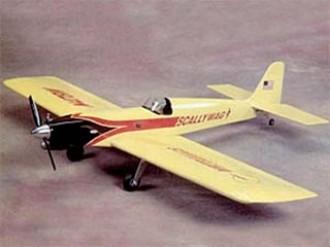 Scallywag model airplane plan