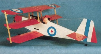 Schutt Tripe-Bipe model airplane plan