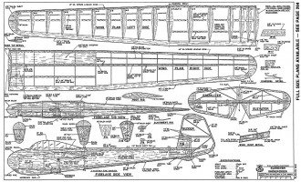 Schweyer Rhonsperber-RCM-09-89-1051 model airplane plan