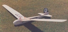 Schweyer Rhonsperber model airplane plan