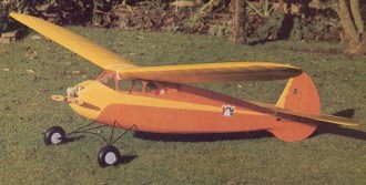 Scram X1.3 model airplane plan