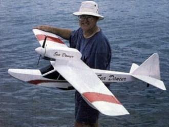 Sea Dancer model airplane plan
