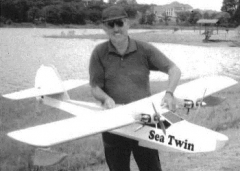 Sea Twin model airplane plan