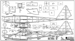 Seadancer RCM-1214 model airplane plan