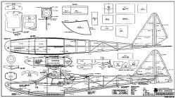 Seadancer RCM-1214 model airplane plan