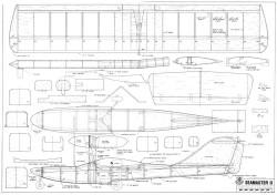 Seamaster II model airplane plan