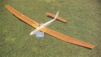 Serendipity model airplane plan