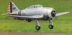 Seversky P-35 model airplane plan