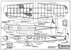 Shoestring-RCM-06-72 493 model airplane plan