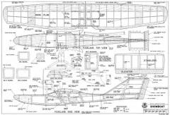 Showboat-RCM-11-88 1031 model airplane plan