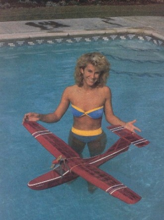 Showboat model airplane plan