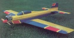 Side Pocket model airplane plan