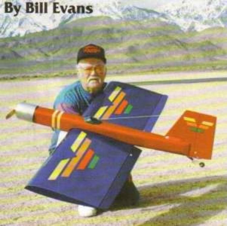 Simitar Advantage model airplane plan