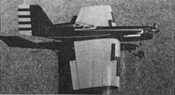 Simitar Classic RCM 1285 model airplane plan