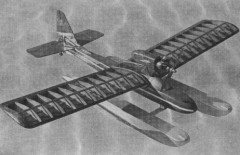 Simple Sunday Seaplane model airplane plan
