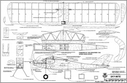 Sky-Mite model airplane plan