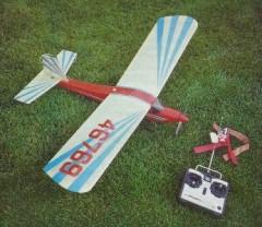Sky Knight model airplane plan