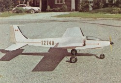 Skyraker model airplane plan