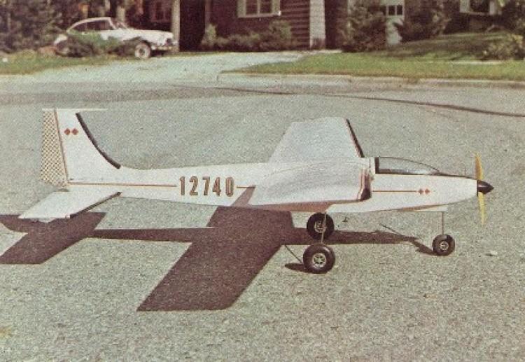 Skyraker model airplane plan