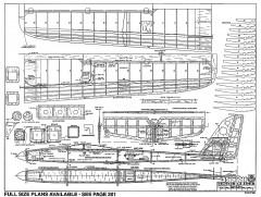 Slick-RCM-10-95 1200 model airplane plan