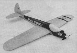 Small Change model airplane plan