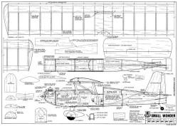 Small Wonder model airplane plan