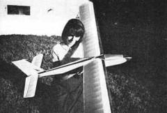 Snipe model airplane plan