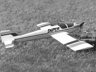 Sniper model airplane plan