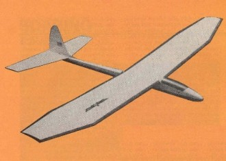 Soarer model airplane plan