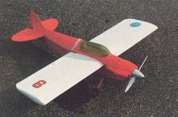 Sonerai II model airplane plan