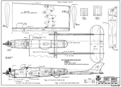 Sonic Booms model airplane plan
