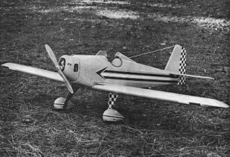 Southern Belle model airplane plan