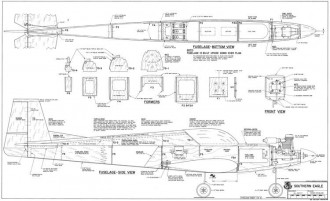Southern Eagle model airplane plan