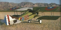 Spad XIII C1 model airplane plan