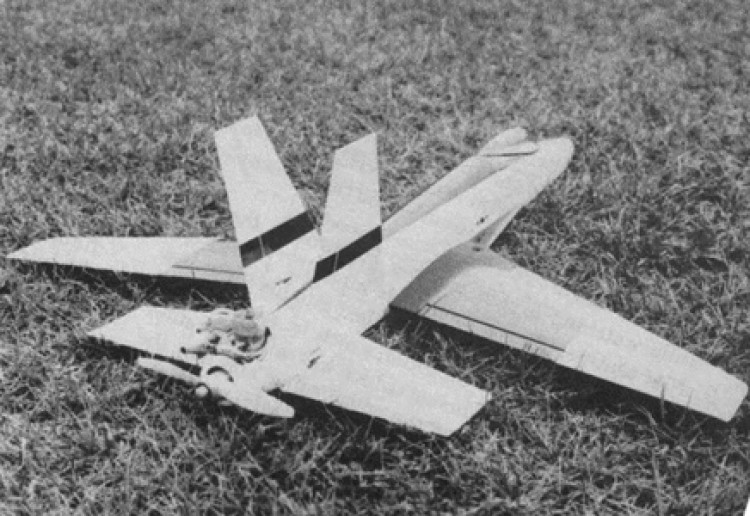Spectre model airplane plan