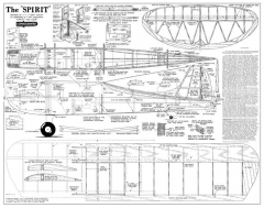 Spirit Consolidated model airplane plan