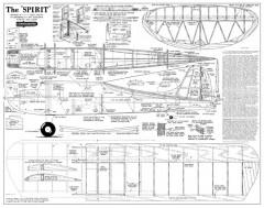 Spirit Consolidated model airplane plan