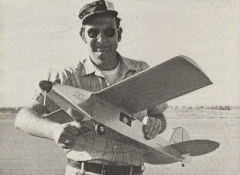 Spirit of St Louis model airplane plan