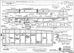 Spiteful model airplane plan