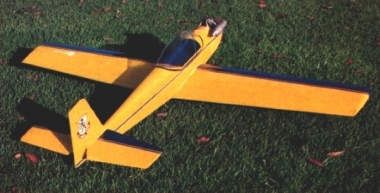 Sport Flyer 40 model airplane plan