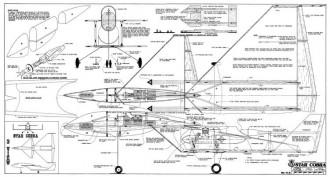 Star Cobra model airplane plan
