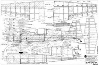 Staudacher S-300 model airplane plan