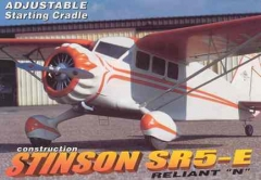 Stinson SR5-E Reliant N model airplane plan