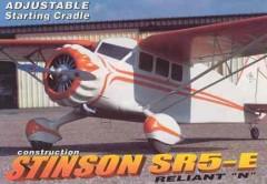 Stinson SR5-E Reliant N model airplane plan